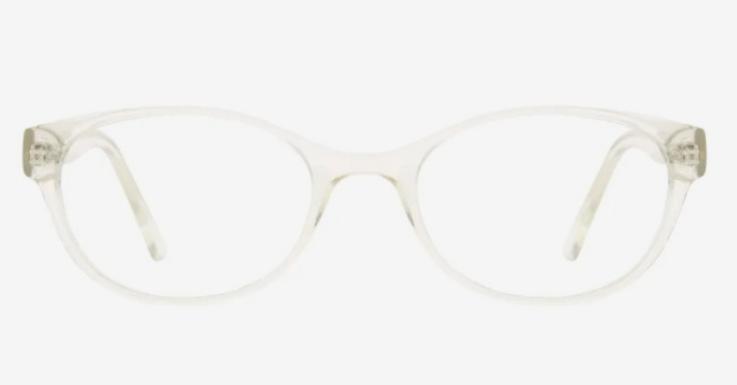 Fashion-Must-have für Minimalist*innen: Transparente Brille von Seen