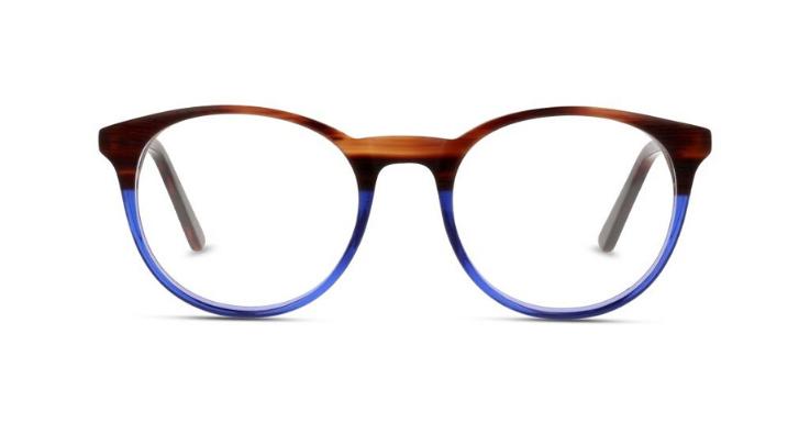 Zweifarbige Panto-Brillenfassung für Herren von MIKI NINN (EAN: 8719154237454)