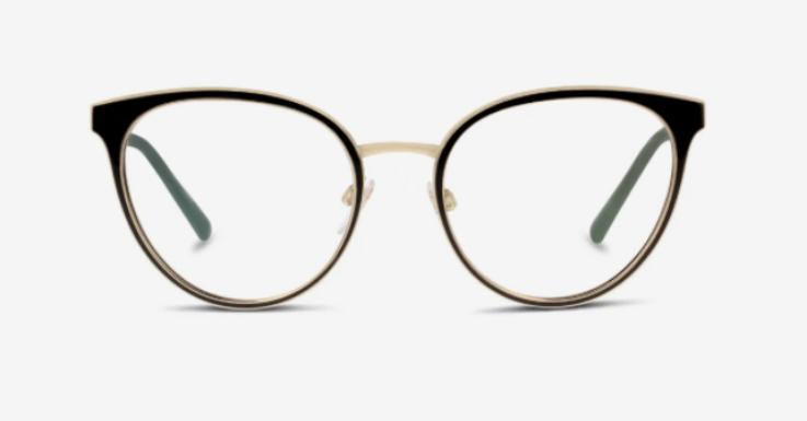 Passt zur Cocktailstunde ebenso wie zum Promenadenbummel: Brillenfassung von Burberry