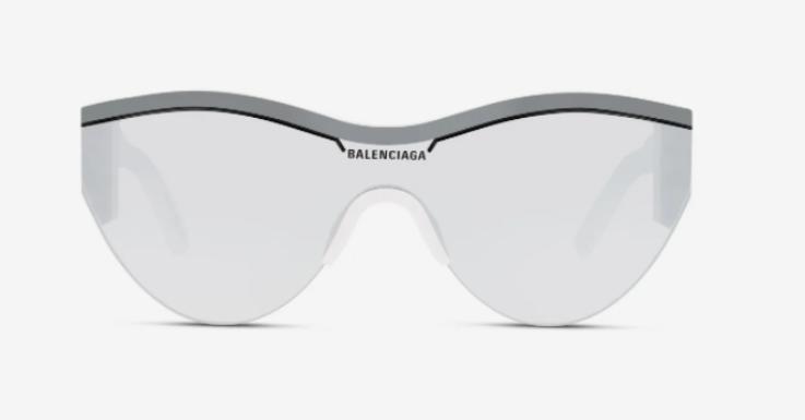 Zum Business-Anzug top – zum All-Over-Jogger aber auch: Sonnenbrille von Balenciaga