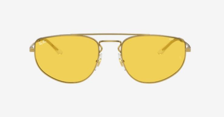Bei dieser Glasfarbe scheint für dich immer die Sonne. Sonnenbrille von Ray-Ban