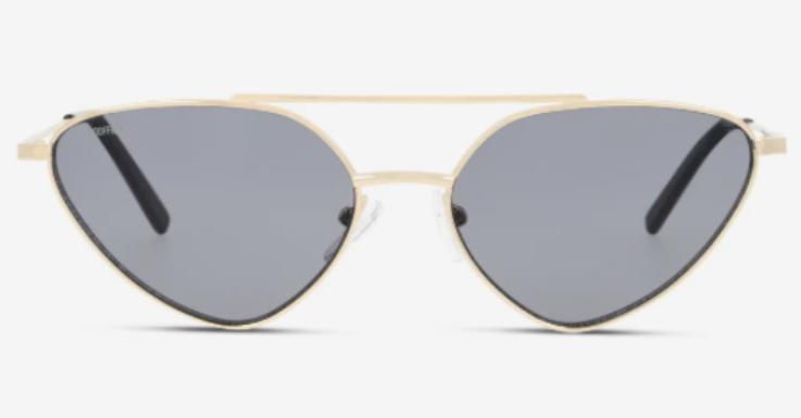 Der Rahmen ist filigran, die Form extravagant: Sonnenbrille von Unofficial