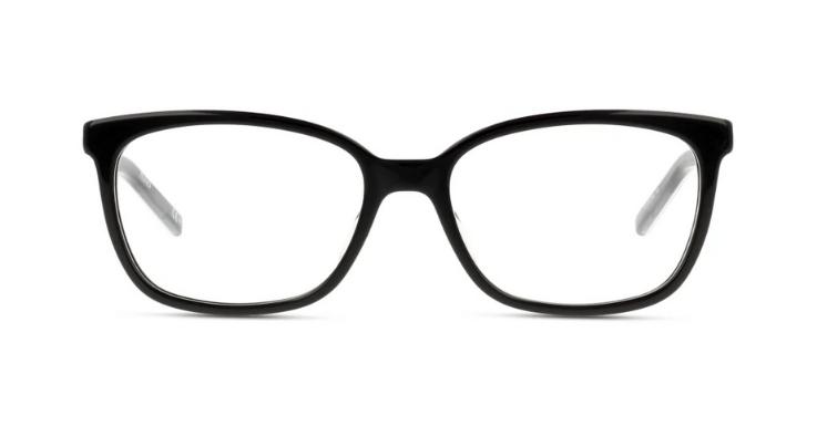 Diese Brillenfassung von Hugo strahlt zeitlose Eleganz aus