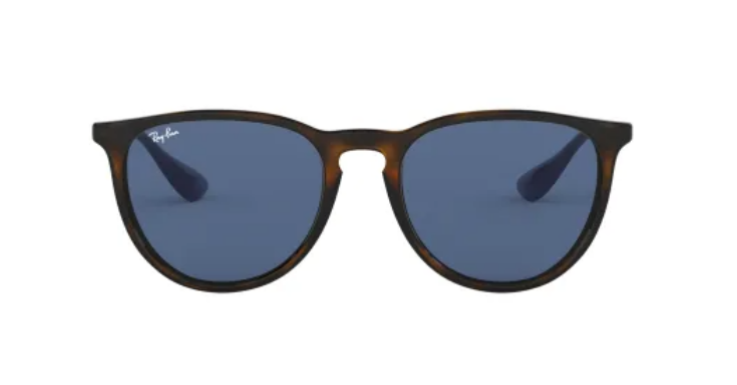Mit einem Sonnenbrillen-Klassiker ab in die Berge: Sonnenbrille in Panto-Form von Ray-Ban