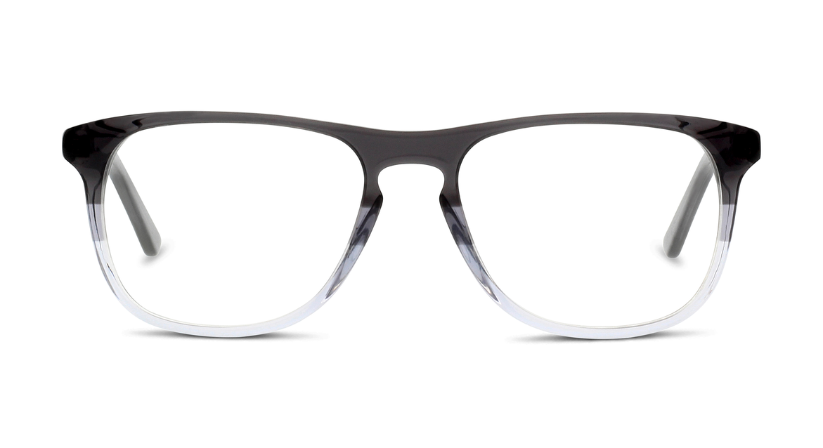 Markante Pantobrille mit interessantem Farbverlauf in Schwarz-grau-transparent von BE BRIGHT (EAN: 8719154308369)
