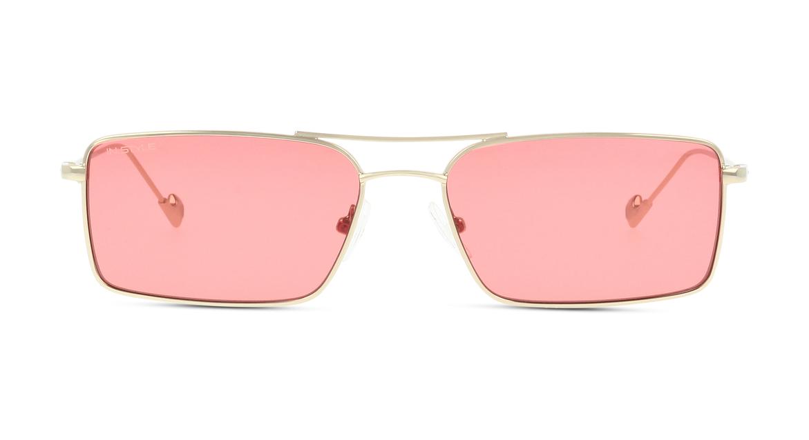 Eine aktuelle Interpretation typischer 00er-Jahre-Features bietet diese Unisex-Sonnenbrille von IN STYLE.