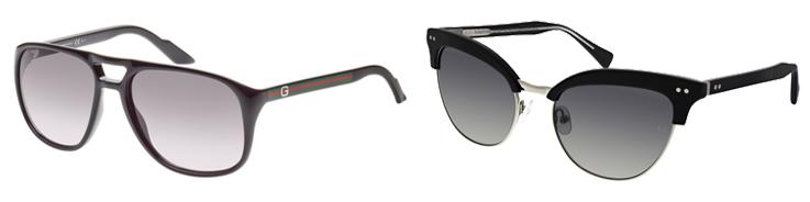 herren und cat-eye sonnenbrille