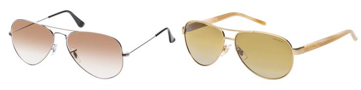 ray-ban und ralph lauren sonnenbrille
