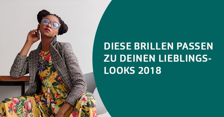 Brillen - Modetrends 2018