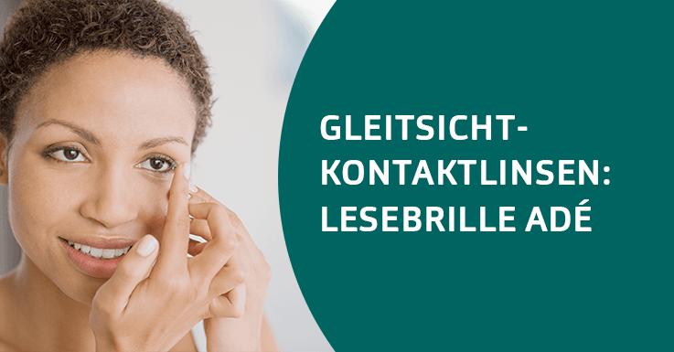 Gleitsicht-Kontaktlinsen