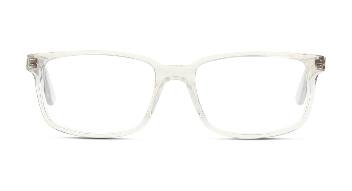 Markante Form, zurückhaltende Farbe: Transparente Herren-Fassung von BE BRIGHT