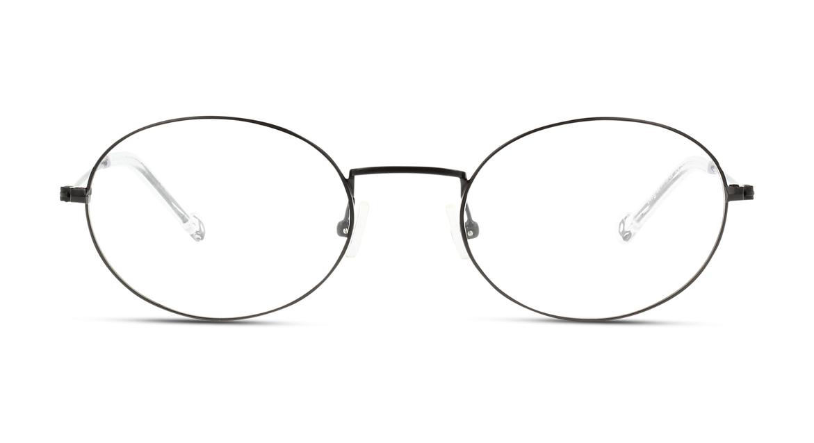 Diese Brillenfassung für Herren von IN STYLE verleiht dem Nerd-Look einen Hauch Sportivität dank transparenter Bügelenden