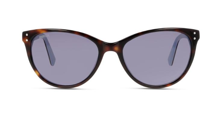 Cat-Eye-Form in moderner Interpretation: Diese Sonnenbrille für Damen von UNOFFICIAL wirkt alles andere als von gestern
