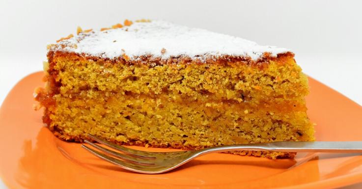 Yummy: Pass bloß auf, dass dir der Osterhase nicht den Karottenkuchen wegisst!