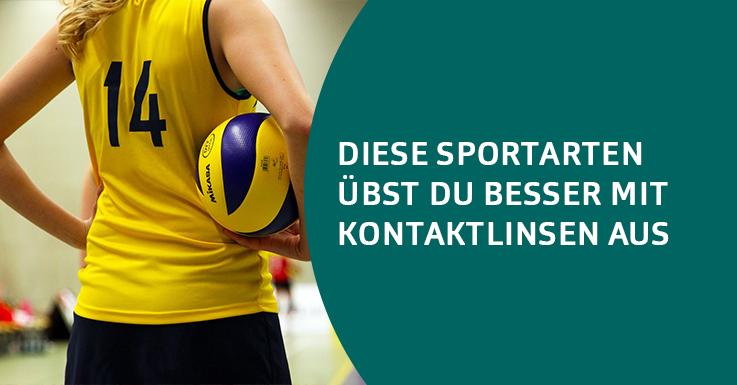 Kontaktlinsen und Sport
