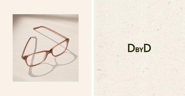 Unaufdringlich und stylisch, ökologisch und robust: Allrounder-Brillenfassung von DbyD