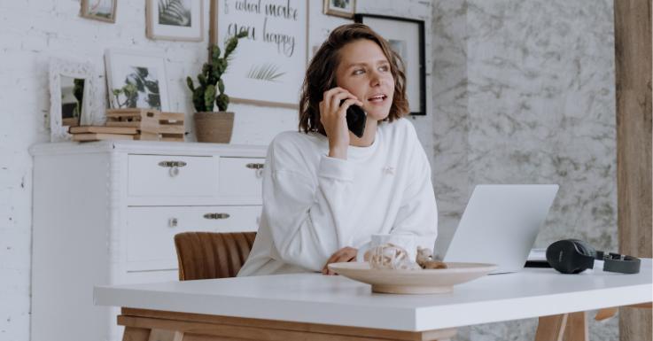 Home-Office hat viele Vorteile. Eins davon ist ein reduziertes Stresslevel.