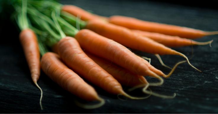 Karotten sind gut für die Augen