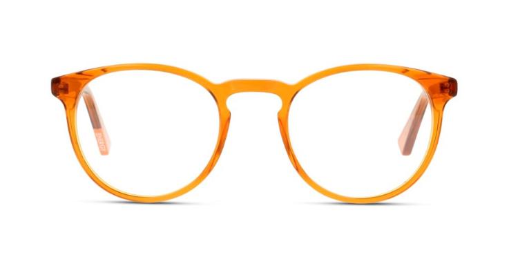 Kunststoff-Modell von MIKI NINN für Herren in einem warmen Gelb-Orange