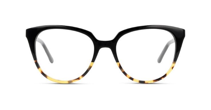 Schildpatt-Farbverlauf trifft auf leicht eckige Cat-Eye-Form: Damen-Modell von Sensaya