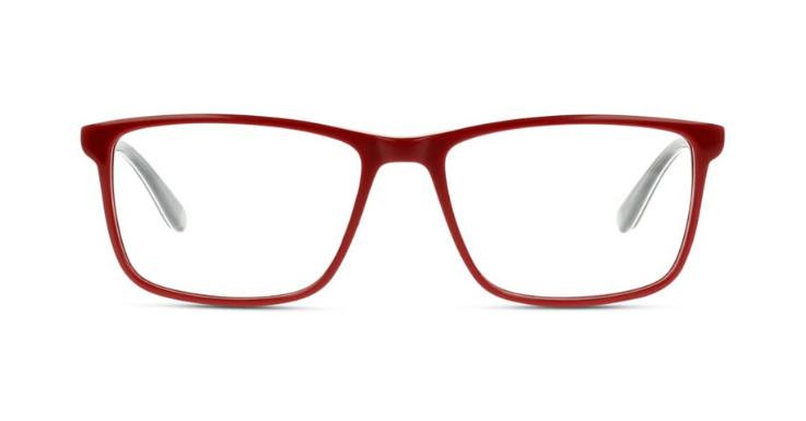 Trägt ihren Namen vollkommen verdient: IN STYLE handsome Brillenfassung in bestechendem Rot