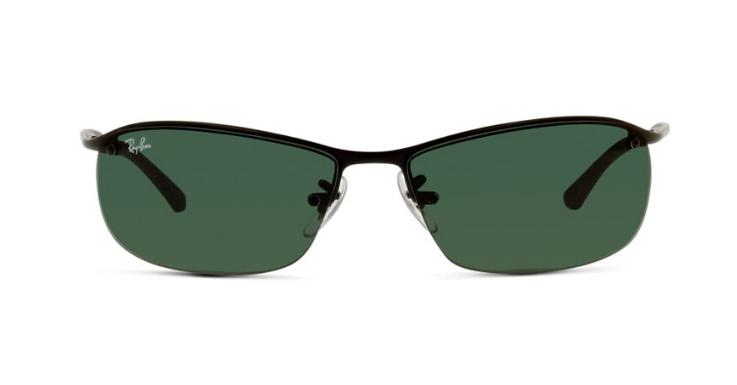 Die hätte auch Neo gerne getragen: Smart-sportliche Sonnenbrille von Ray-Ban mit dunkelgrünen Gläsern
