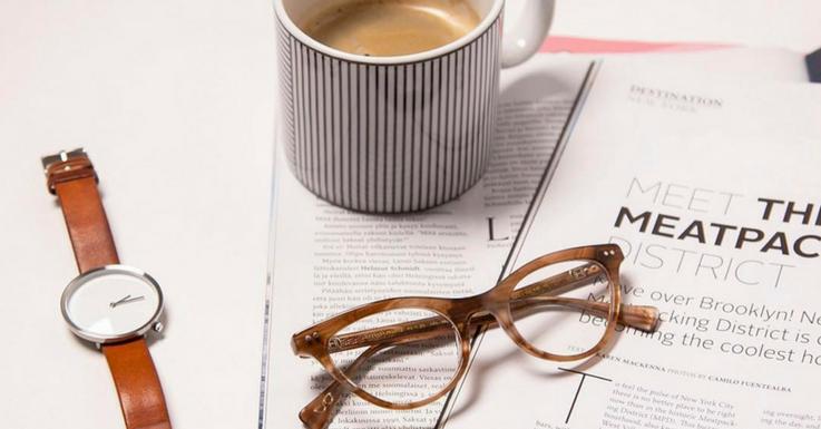 Die Gleitsichtbrille: Nicht nur zum Lesen bestens geeignet