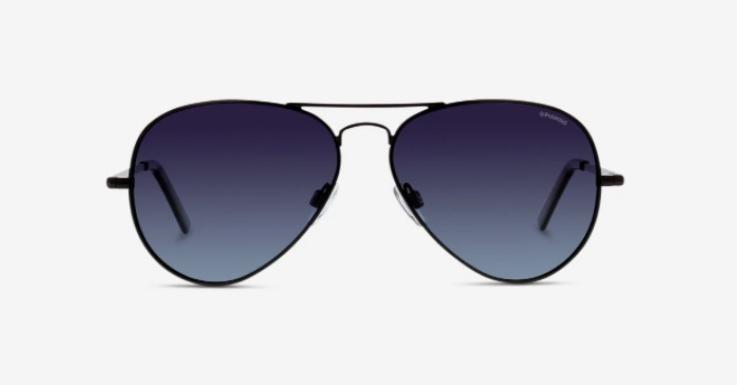 Sonnenbrillen mit Filterkategorie 3 sind ideal für den Urlaub in den Bergen. Wie dieses Modell von Polaroid