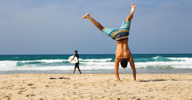 Spaß am Strand: Unkompliziert mit Kontaktlinsen