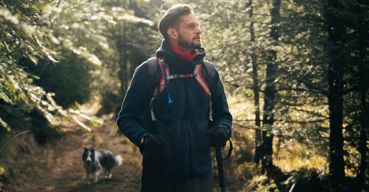 Spaziergänge wirken Wunder – und tun auch den Augen gut!