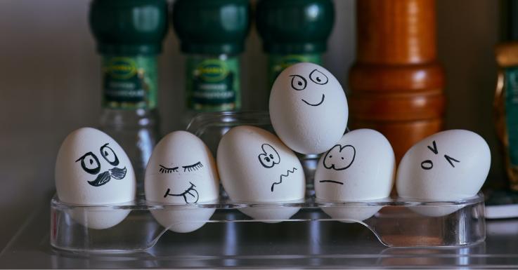 Kleines Ratespiel zu Ostern: Wer erkennt sich auf dem Ei wieder?