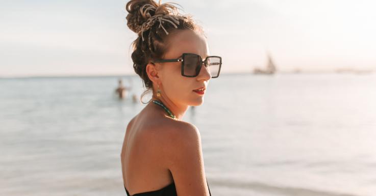 Fashion-It-Piece mit sonnenschützender Wirkung: die Sonnenbrille.