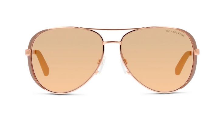 Aviator-Sonnenbrille mit femininem Charakter von Michael Kors