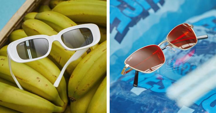 Weißer Rahmen oder lieber kirschrote Gläser? Oder beides? Unofficial lässt dir die Wahl.