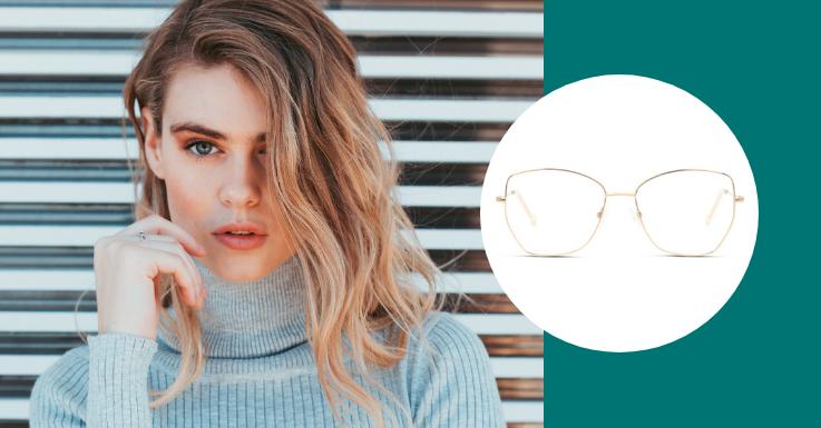 Golden Times: Begrüße den goldenen Herbst mit wilden Beach Waves und dieser eleganten Brillenfassung von IN STYLE