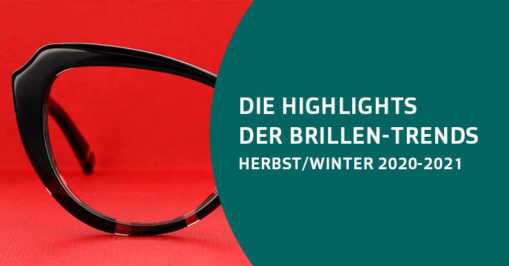 Pearle Brillen-Trends Herbst/Winter 2020-2021