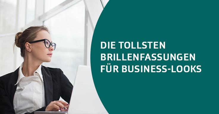 Brillen für Business-Looks