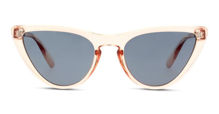 Cat-Eye trifft auf Transparenz: Heraus kommt eine futuristische Sonnenbrille für Damen von Seen