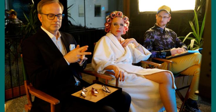 Nina Proll im neuen Pearle TV-Spot