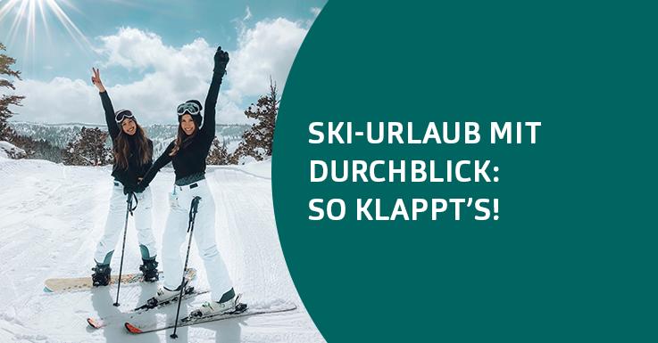 Ski-Urlaub Winter Vorbereitung