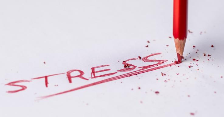 Stress wirkt sich auch negativ auf dein Sehvermögen aus.