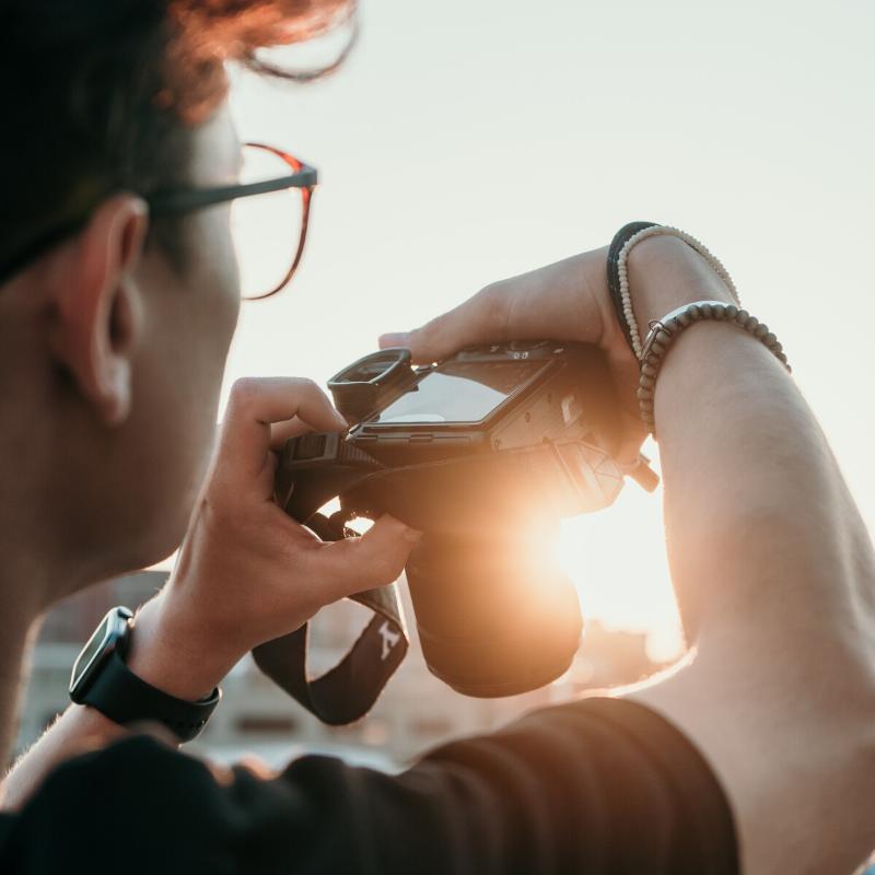 Praktisch für Brillenträger: Kameras mit LCD-Display