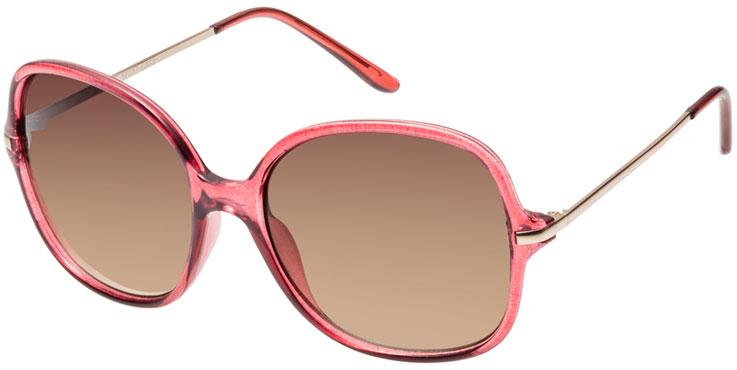 Diven-Sonnenbrille in Rosa, Gold und Braun von Seen // 331332