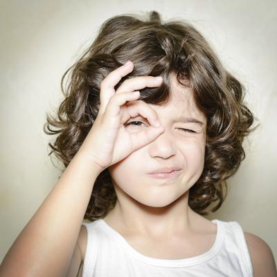 Sehschwäche bei Kindern
