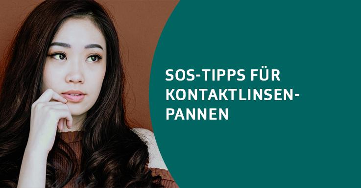 Unsere ultimativen SOS-Tipps für Kontaktlinsen