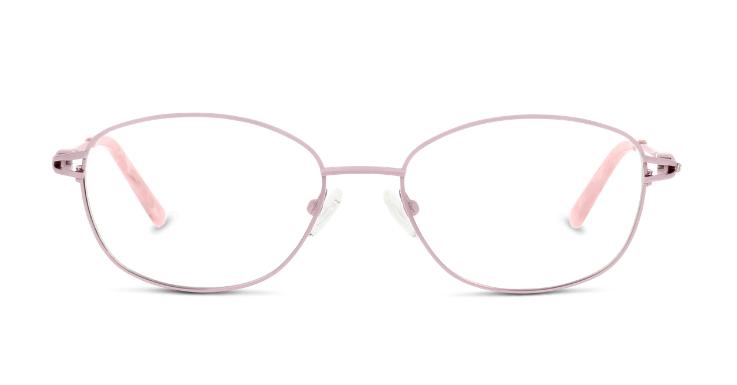 Zartrosa, ohne allzu mädchenhaft zu sein: Brillenfassung von C-line